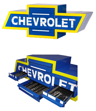 Chevrolet logo toolbox