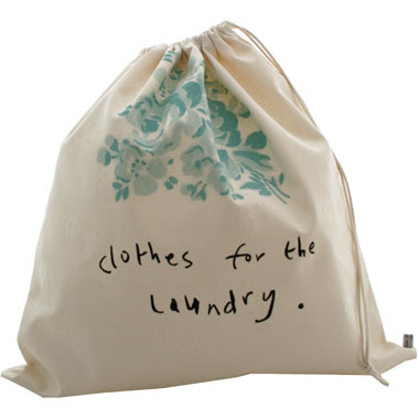 laundry bag - says clothes for the laundry
