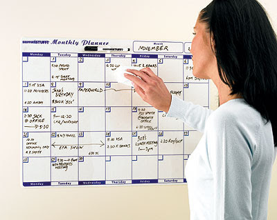 dry erase monthly planner