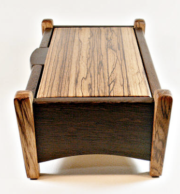 taper leg wood box