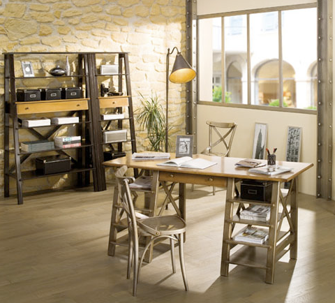 Architect Desk jeri's organizing & decluttering news: desks with handy storage