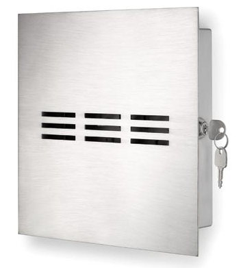 key box, stainless steel
