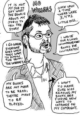 Mo Willems Doodles: June 2010