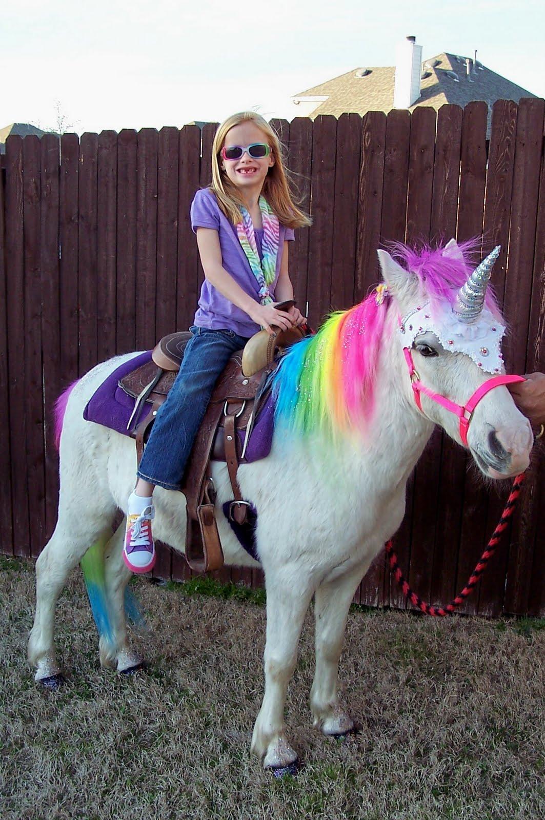 The Black Family: Brooke and the Rainbow Unicorn!