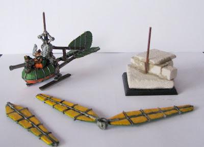 Stumpy Heaven: Dwarf Gyrocopter & homemade movement trays