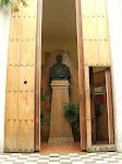 Portón del Templo Masónico en la actualidad