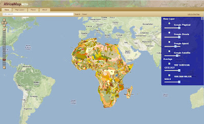 Free Map Of Africa.Free Gis Remote Sensing Spatial Hydrology Data Africa Maps