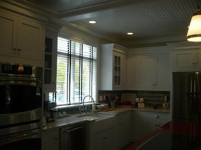 Espresso Kitchen Cabinets With White Appliances Ok