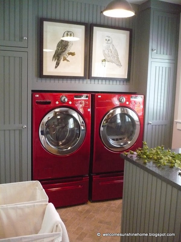 Laundry Room Paint Color - Cityscape by Sherwin Williams