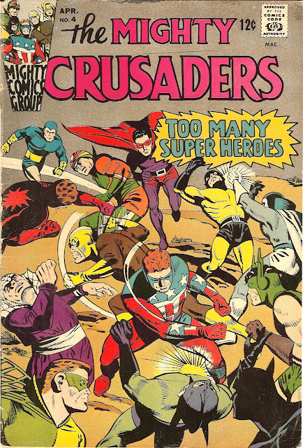 The Mighty Crusaders #4 (Issue)
