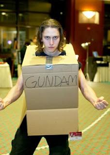 Los peores cosplays XD Gundam2