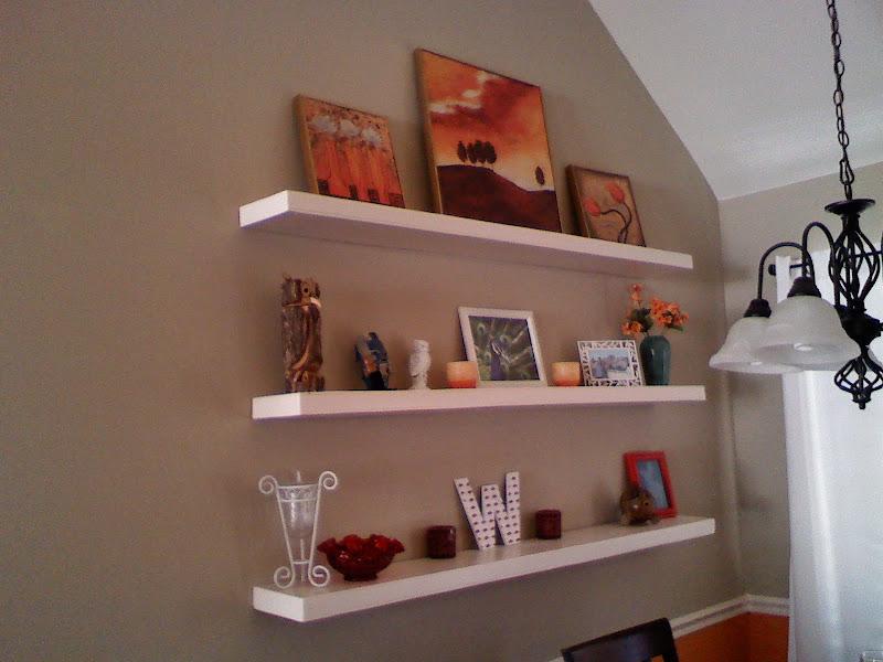 DIY Floating Wall Shelf