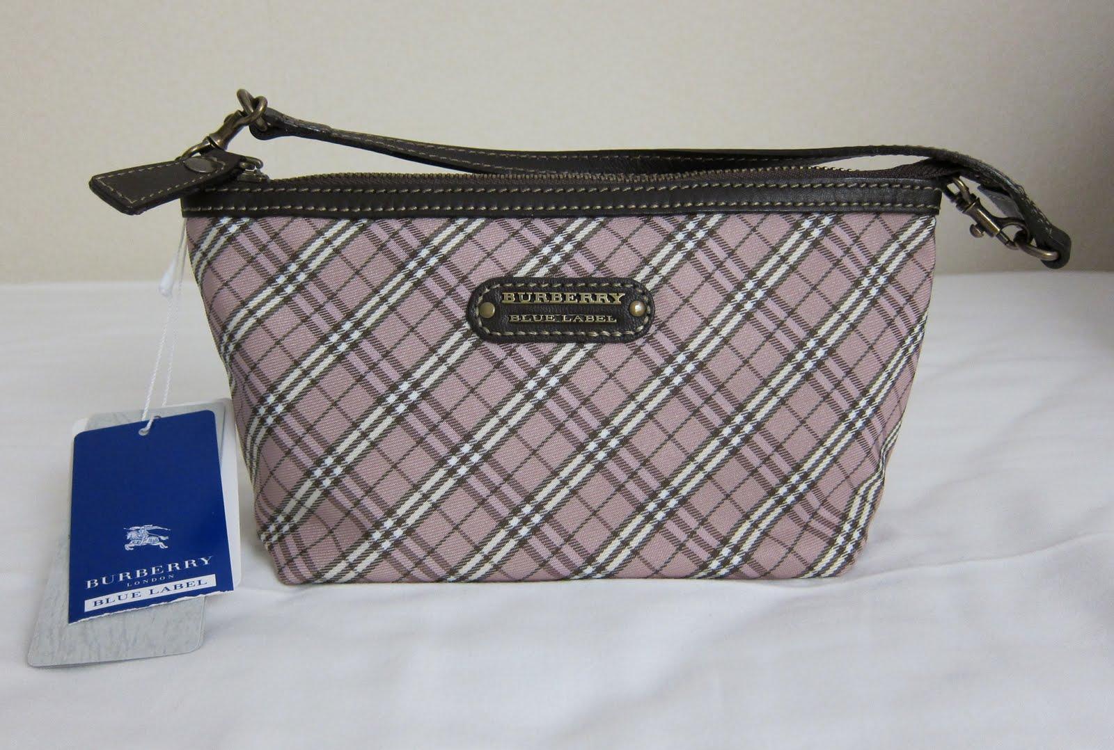 Burberry Blue Label Clutch Shoulder Bag