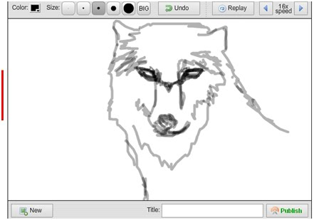LET'S DRAW: Wolf Sketch Practice