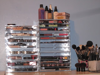 emoney429: Muji Acrylic Makeup Storage - The Clear Cube Dupe