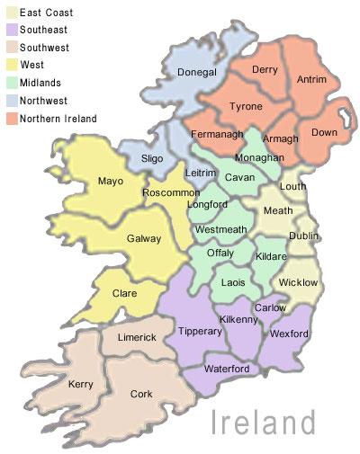 Map Of Quinn Ireland.Family Of John Dennis Quinn And Margaret Regena Lynn Map Of Ireland