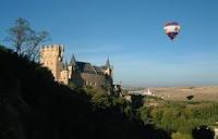 viajes en globo en Segovia