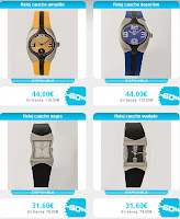relojes caucho marca time force
