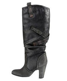 botas negras mujer oferta