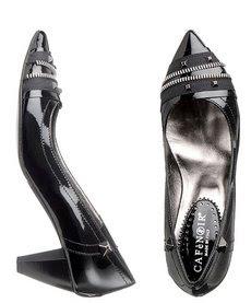 zapatos negros con tacon