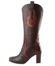 botas country marron oscuro