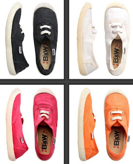 zapatillas de colores lona