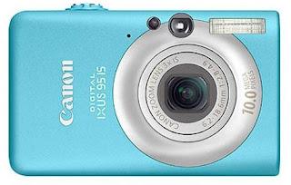 camara canon ixus 95 blue
