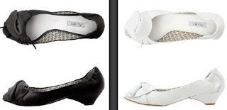 zapatos negros o blancos