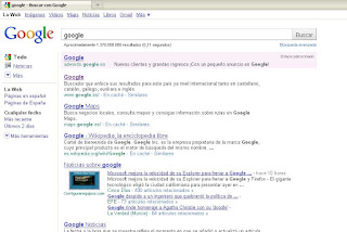 google indexa real