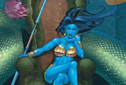 Blue Chicks Are Hot: Namora