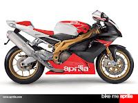Aprilia RSV 1000 R factory red lion