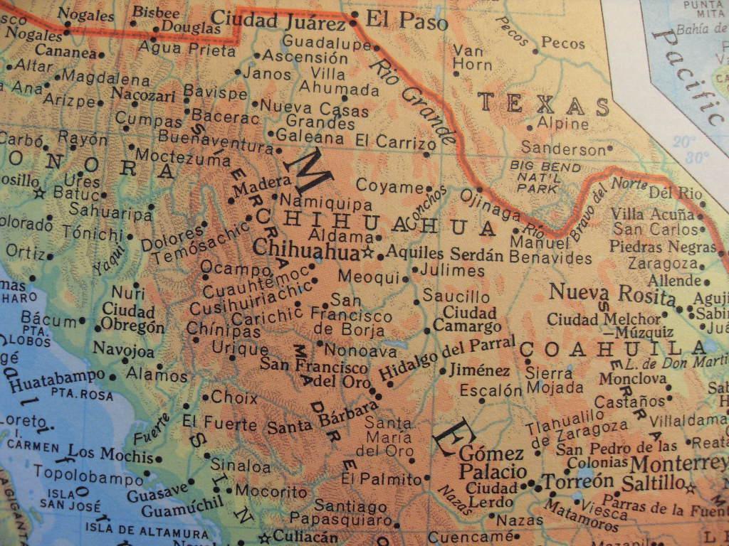 Monclova Mexico Map.Inexplicata The Journal Of Hispanic Ufology Mexico Chupacabras In