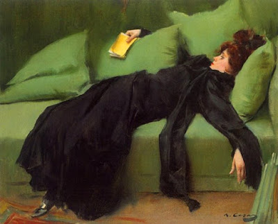 Ramon casas despues del baile