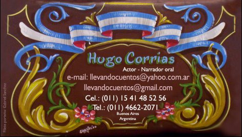 Hugo Corrias presenta...
