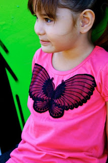 image butterfly tee t-shirt wide wing