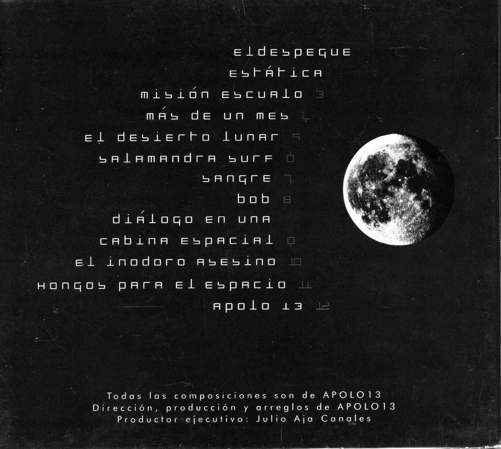 Música Inclasificable: Apolo 13 - Despegue [2002]