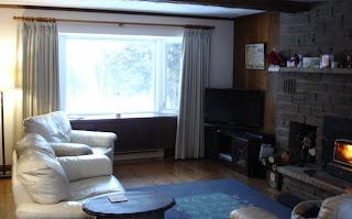 Living room, December 2007