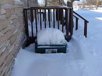 Composter snowed in
