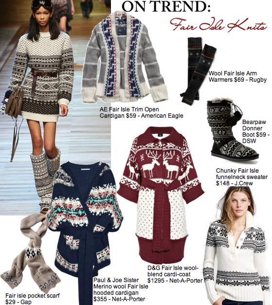 On Trend   Fair Isle Knitwear for Winter - Glamazon Diaries