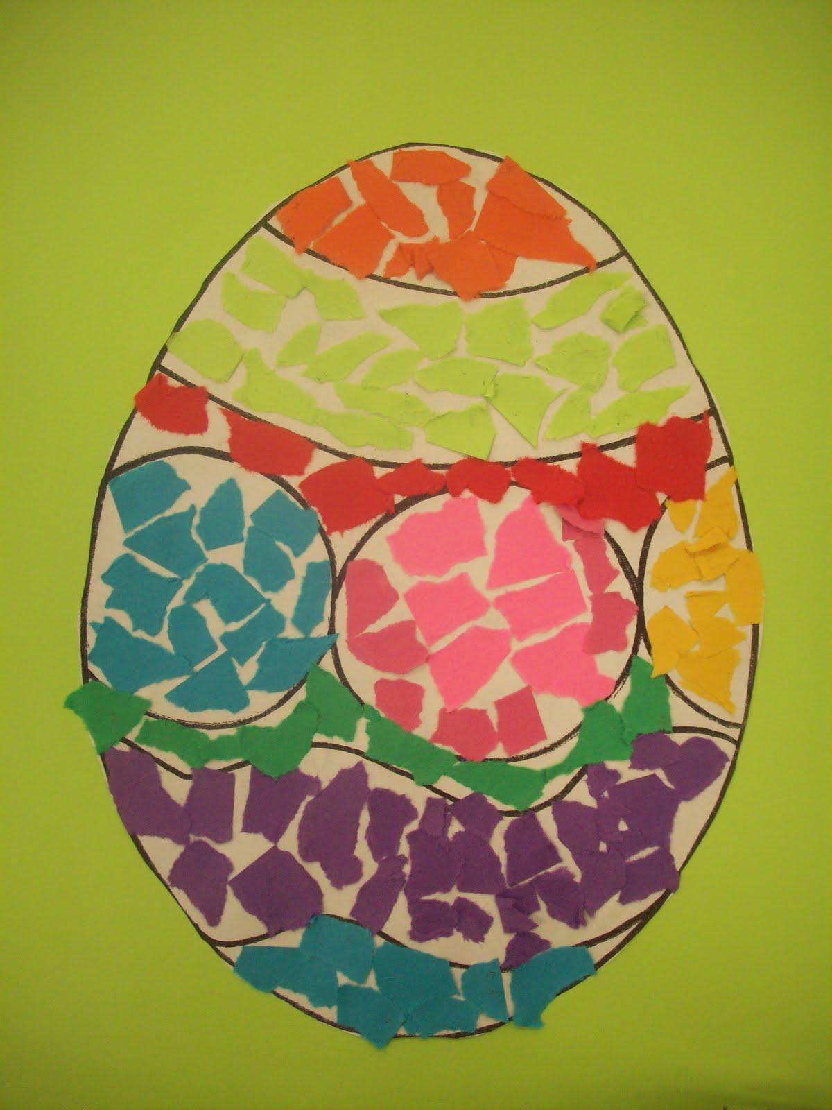 Mrs Porter S Palette Easter Egg Mosaics