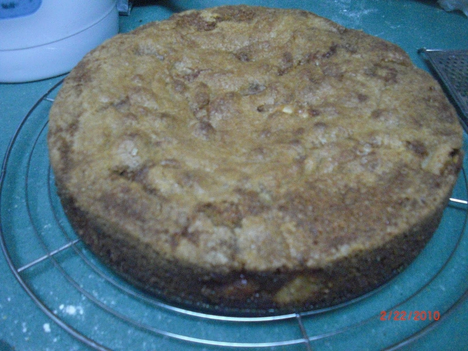 Alton Brown S Apple Cake