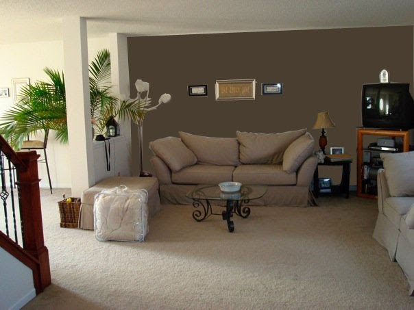 Paint Designs For Living Room: Squirrel Chatter: Reader Opinion Needed! Accent Wall?
