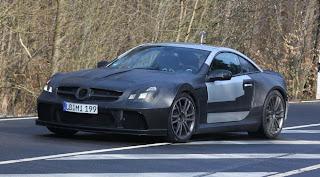 The Mercedes SL65 Black Series