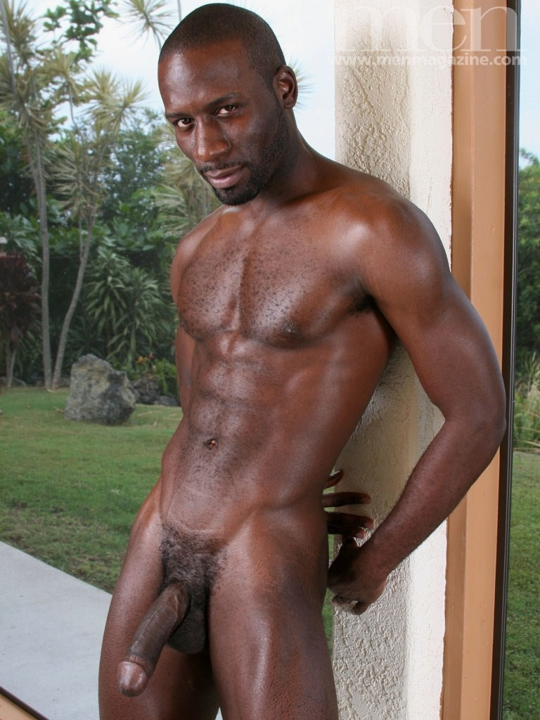 Well, not black hunks with big bulges cleared