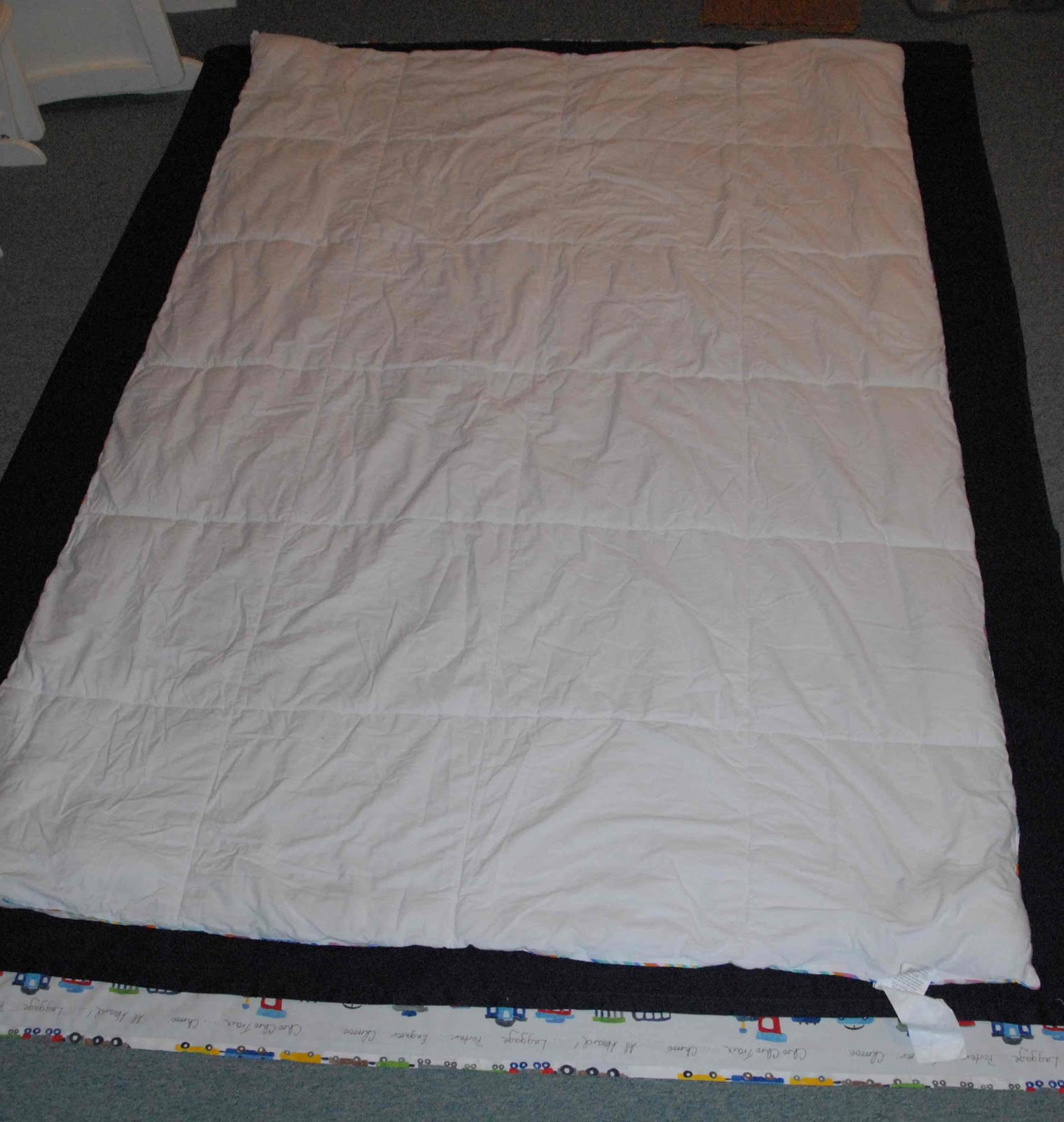 Living Livelier: DIY - Twin Duvet Cover