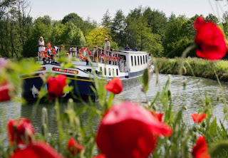 French Hotel Barge LA BELLE EPOQUE Walking Cruise in Burgundy