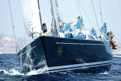 Race Swan Charter Yacht HIGHLAND BREEZE in the Rolex Cup - Contact ParadiseConnections.com