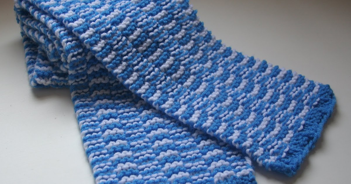 Wool Windings: Special Olympics Scarf