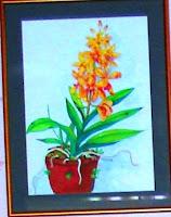 Lukisan Pokok Bunga Dalam Pasu Cikimm Com
