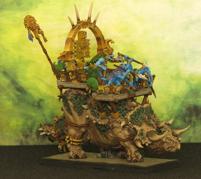 Warhammer Fantasy Battle Tabletop Gaming New Lizardmen